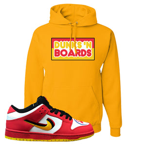 Nike Dunk Low Vietnam 25th Anniversary Pullover Hoodie | Dunks N Boards, Gold