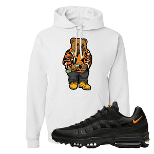 Air Max 95 Ultra Spooky Halloween Pullover Hoodie | Sweater Bear, White