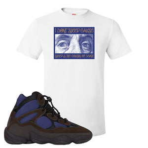 Yeezy 500 High Tyrian T Shirt | White, Franklin Eyes