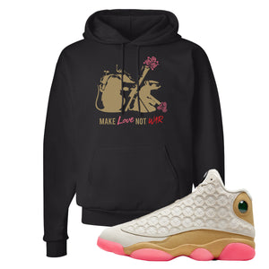 Jordan 13 Chinese New Year Hoodie | Black, Army Rats