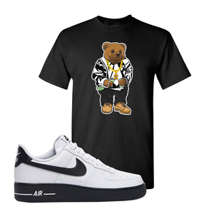Air Force 1 Low White Black T Shirt | Black, Sweater Bear