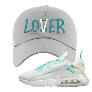 Air Max 2090 Pristine Green Dad Hat | Light Gray, Lover