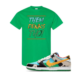 SB Dunk Low 'Chunky Dunky' T Shirt | Irish Green, Them Dunks Tho