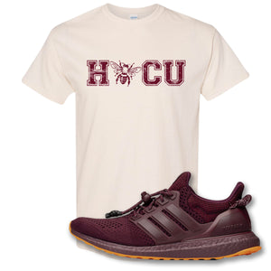 Hocu Natural T-Shirt to match Ivy Park X Adidas Ultra Boost Sneaker