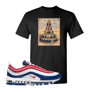 Air Max 97 USA T Shirt | Black, Capitalism Pyramid