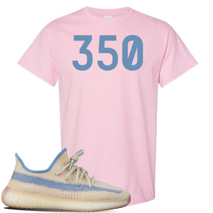 Yeezy Boost 350 V2 Linen T Shirt | Light Pink, 350