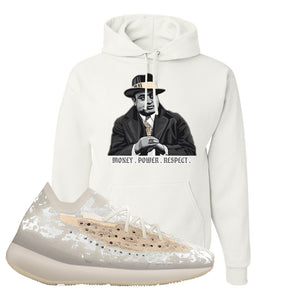 Yeezy Boost 380 'Pepper' Hoodie | White, Capone Illustration