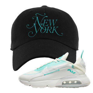 Air Max 2090 Pristine Green Dad Hat | Black, New York