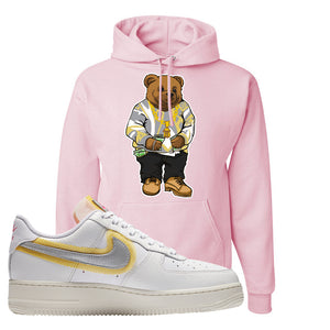 Air Force 1 Low 07 LX White Gold Hoodie | Sweater Bear, Classic Pink