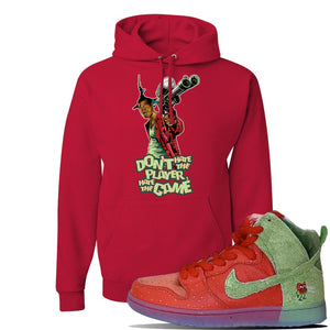 SB Dunk High 'Strawberry Cough' Hoodie | Red, Don't Hate The Player