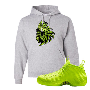 Air Foamposite Pro Volt Hoodie | Indian Chief, Ash