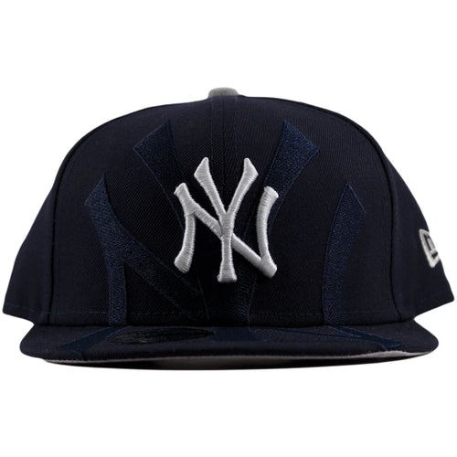 New York Yankees Logo Spill Over Youth Adjustabe Snapback Hat