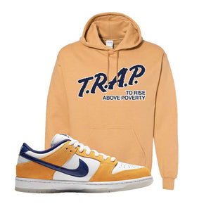 SB Dunk Low Laser Orange Hoodie | Old Gold, Trap To Rise Above Poverty