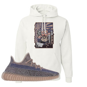 Yeezy Boost 350 V2 Fade Pullover Hoodie | Attack Of The Bear, White