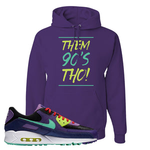 Air Max 90 Cheetah Hoodie | Them 90's Tho, Dark Purple