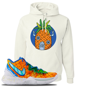 Kyrie 5 Pineapple House Pineapple House White Sneaker Hook Up Pullover Hoodie