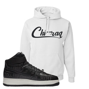 Air Force 1 High Hotline Hoodie | Chiraq, White