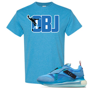 Air Max 720 OBJ Slip Light Blue T Shirt | Heather Sapphire, OBJ Catch