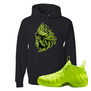 Air Foamposite Pro Volt Hoodie | Indian Chief, Black