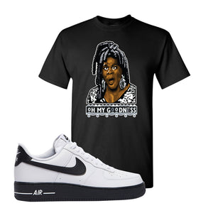Air Force 1 Low White Black T Shirt | Black, Oh My Goodness