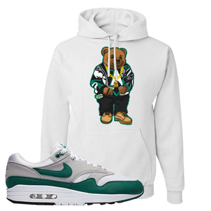 Air Max 1 Evergreen Hoodie | Sweater Bear, White