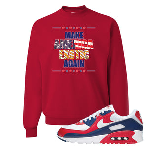Air Max 270 USA Crewneck | Red, Make America Exotic Again