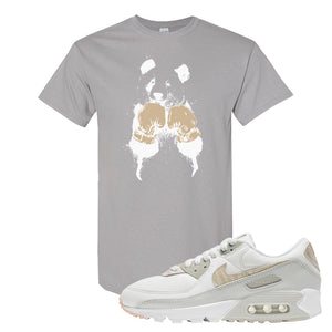 Air Max 90 Zebra Snakeskin T Shirt | Boxing Panda, Gravel