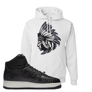 Air Force 1 High Hotline Hoodie | Indian Chief, White