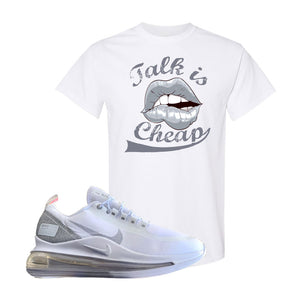 Air Max 720 Utility White T Shirt | White, Talk is Cheap