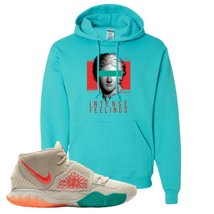 Kyrie 6 N7 T Shirt | Scuba Blue, Intense Feelings