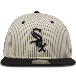 Chicago White Sox Retro Cooperstown Pinstripe 9Fifty Snapback Hat