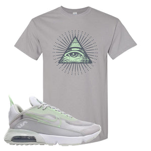 Air Max 2090 'Vast Gray' T Shirt | Gravel, All Seeing Eye