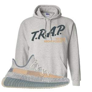 Yeezy Boost 350 V2 Israfil Hoodie | Ash, Trap To Rise Above Poverty