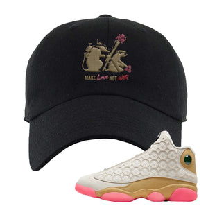 Jordan 13 Chinese New Year Dad Hat | Black, Army Rats