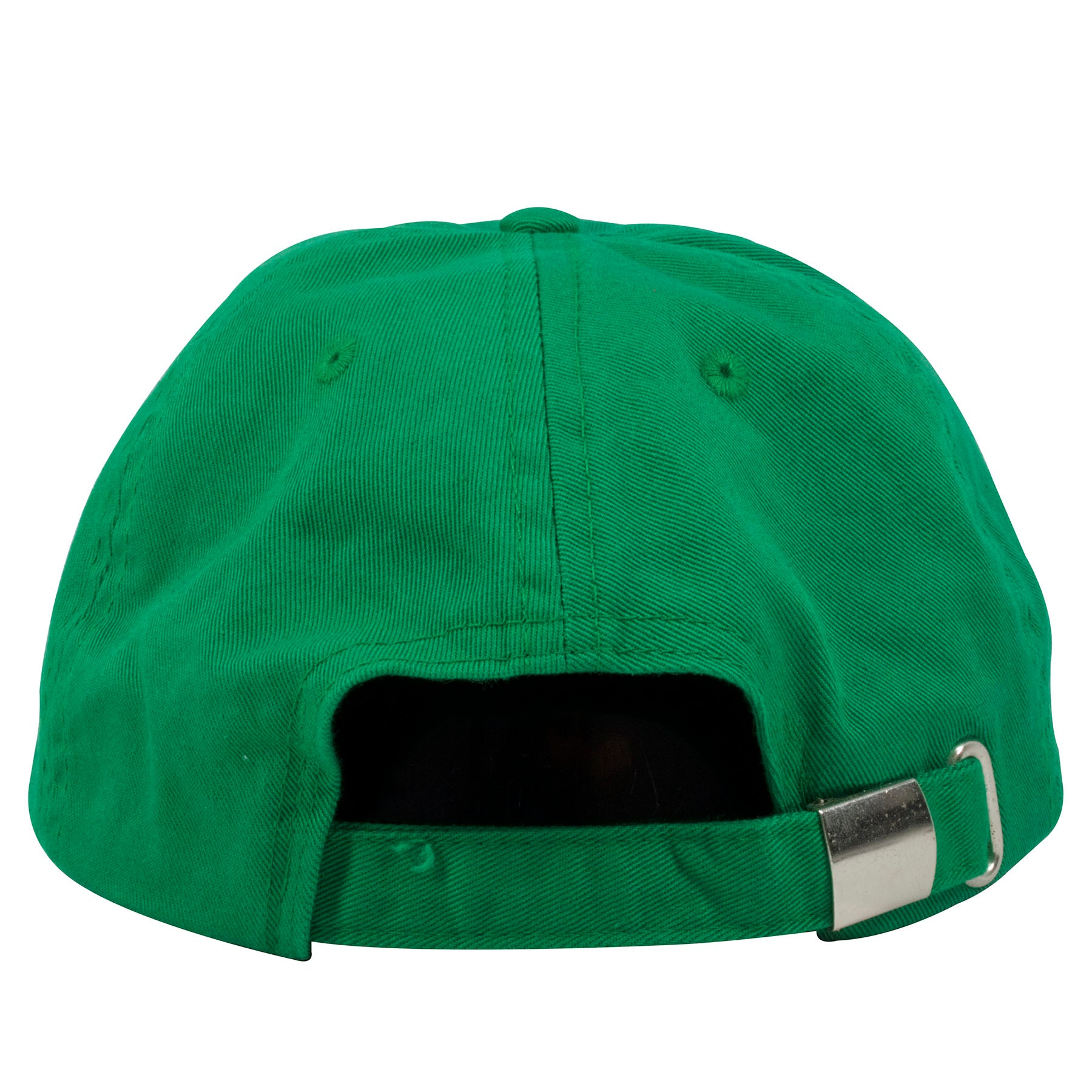 f6025f0e8c1 ... on the back of the Benjamin Franklin Dilly Dilly kelly green dad hat is  a kelly