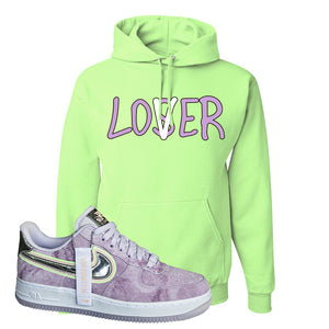 Air Force 1 P[her]spective Hoodie | Neon Green, Lover