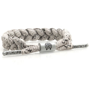 Rastaclat Sneaker Hook Up Concrete Print Braided Shoelace Bracelet