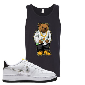 Air Force 1 Tank Top | Black, Sweater Bear