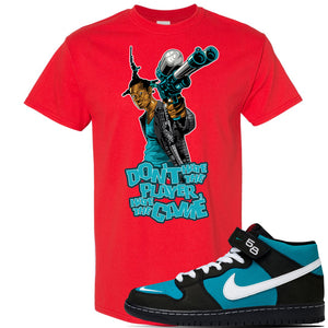 SB Dunk Mid 'Griffey' T Shirt | Red, Dont Hate The Player
