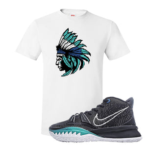 Kyrie 7 Pre Heat T-Shirt | Indian Chief, White