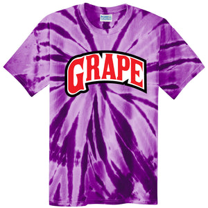 Backwoods Grape Purple Tie-Dye T-Shirt