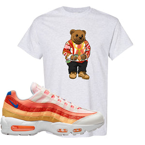 Air Max 95 Orange Snakeskin T Shirt | Sweater Bear, Ash