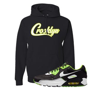 Air Max 90 Exeter Edition Black Hoodie | Crooklyn, Black