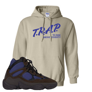 Yeezy 500 High Tyrian Hoodie | Sand, Trap To Rise Above Poverty