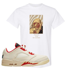 Air Jordan 5 Low Chinese New Year 2021 T Shirt | God Told Me, White