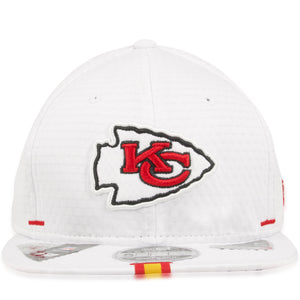 Kansas City Chiefs 2019 Training Camp White 9Fifty Snapback Hat