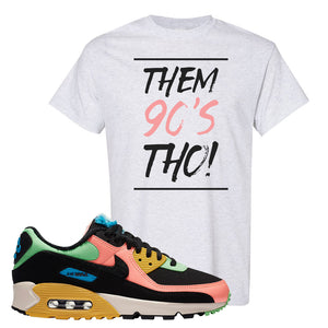 Furry Air Max 90 Bright Neon T Shirt | Them 90s Tho, Ash