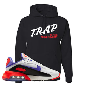 Air Max 2090 Evolution Of Icons Hoodie | Trap To Rise Above Poverty, Black