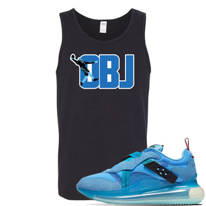 Air Max 720 OBJ Slip Light Blue Tank Top | Black, OBJ catch