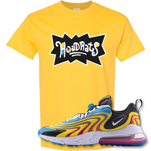 Hood Rats Daisy T-Shirt to match Air Max 270 React ENG Laser Blue Sneakers